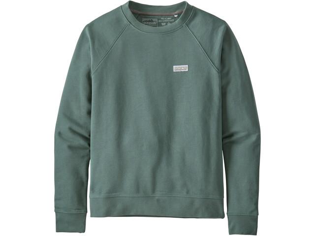 Patagonia Pastel P-6 Label Organic Crew sweatshirt Damer, grøn